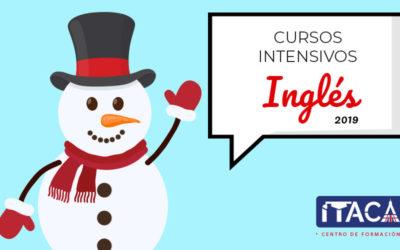 Nuevos cursos intensivos de inglés [enero 2019]